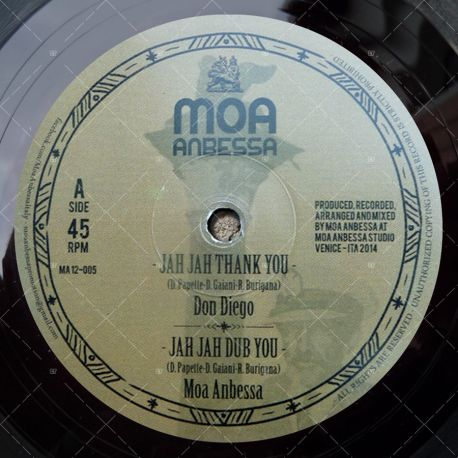 "MA12-005 - Moa Anbessa- Jah Jah Thank You (12"")"