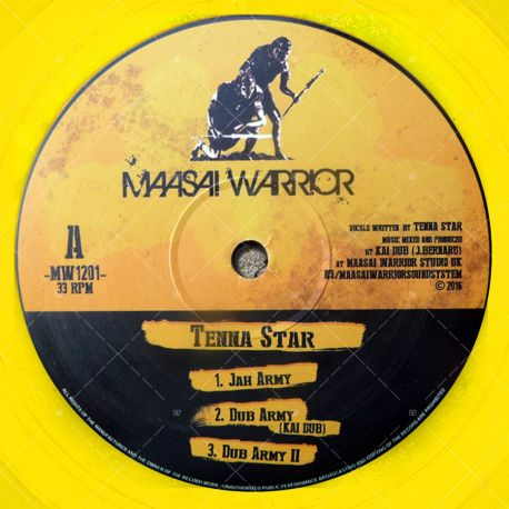 Tenna Star - Jah Army