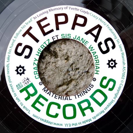"AS7002 Steppas Records (7"")"