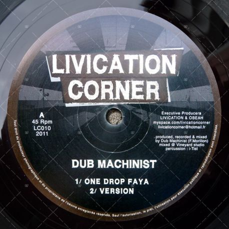 Dub Machinist - One Drop Faya