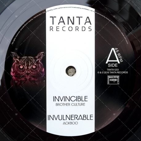Ackboo feat. Brother Culture - Invincible