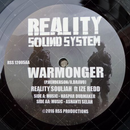 Reality Souljahs feat. Ize Redd - Warmonger