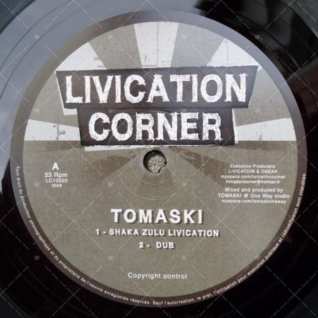 Tomaski - Shaka Zulu Livication