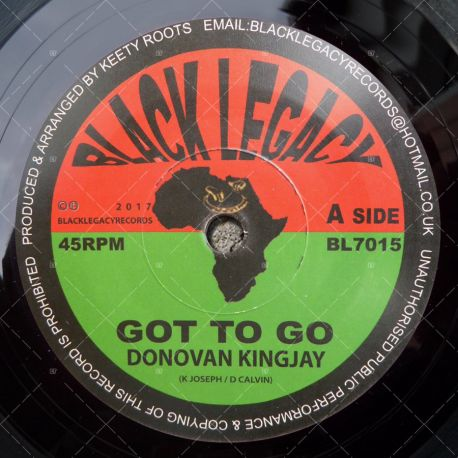 Donovan Kingjay - Got To Go