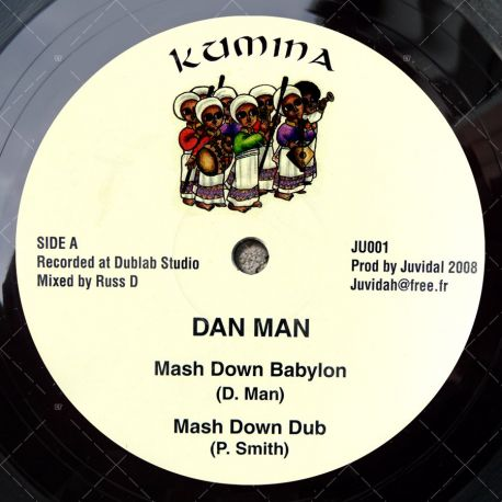 Dan Man - Mash Down Babylon