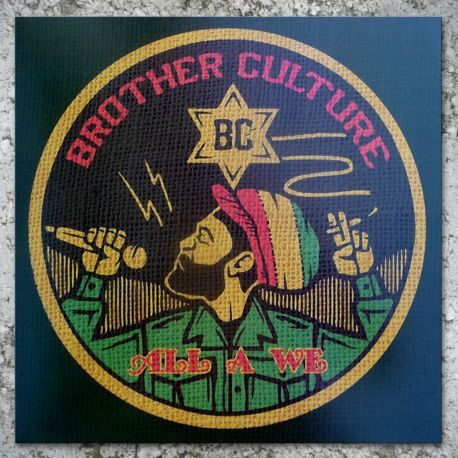 Brother Culture - All A We (LP) Roots Garden Records