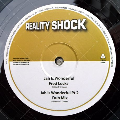 Fred Locks - Jah Is Wonderful