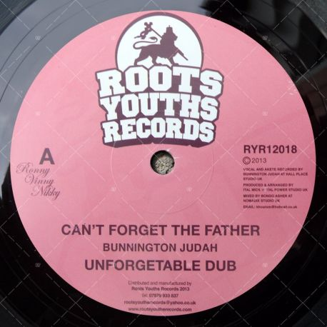 Bunnington Judah - Can't Forget The Father