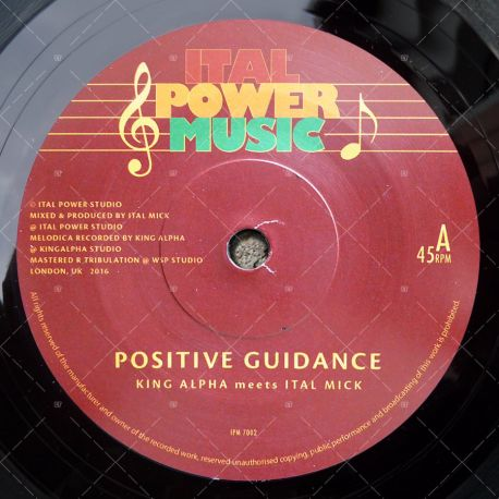 King Alpha meets Ital Mick - Positive Guidance