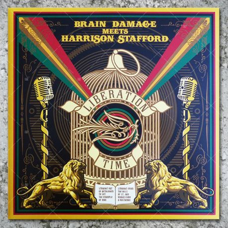 Brain Damage meets Harrison Stafford - Liberation Time