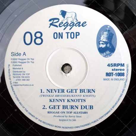 Kenny Knotts - Never Get Burn