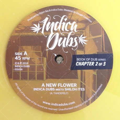 Indica Dubs meets Shiloh Ites - A New Flower