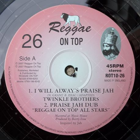 Twinkle Brothers - I Will Always Praise Jah