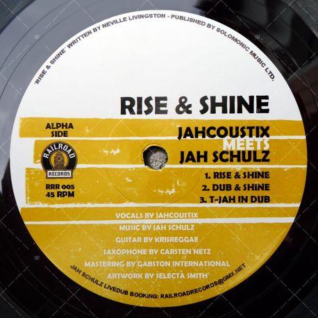 Jah Schulz meets Jahcoustix & Princess Kazayah - Rise & Shine