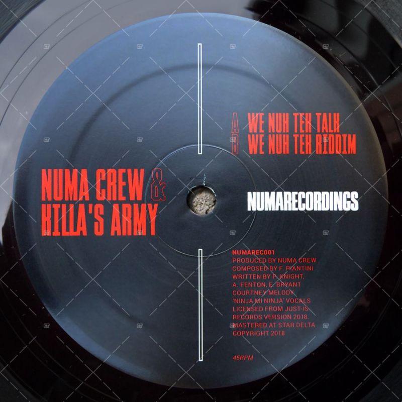 Numa Crew & Killa's Army - We Nuh Tek Talk (12
