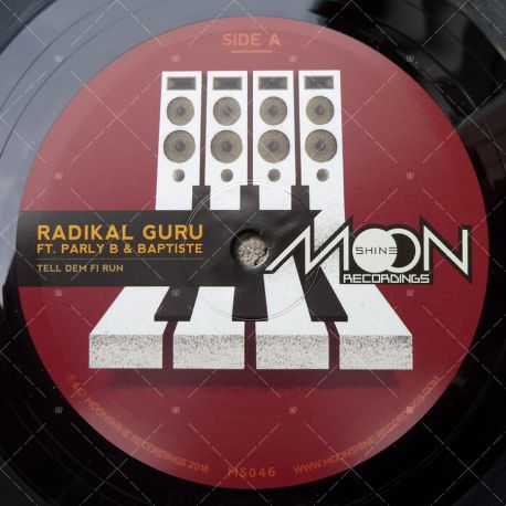 Radikal Guru feat. Parly B & Baptiste - Tell Dem Fi Run