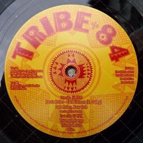 Earl Sixteen - Rasta Rules / Bukkha - Triumph Horns