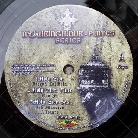 Joseph Lalibela, Don Fe & Jah Massive - Holy Zion