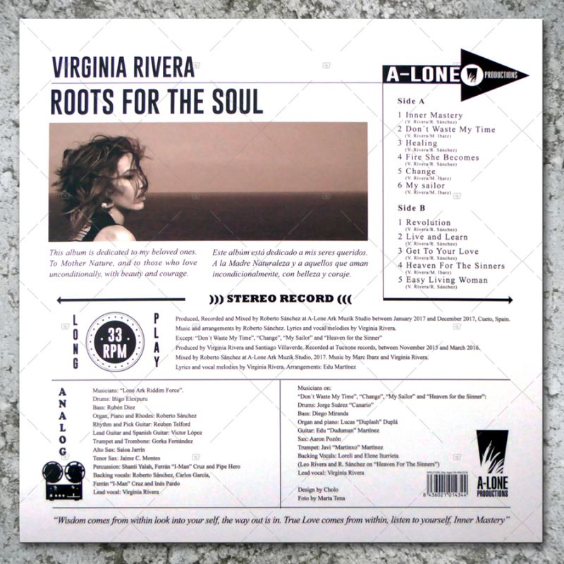 Virginia Rivera - Roots For The Soul (LP)