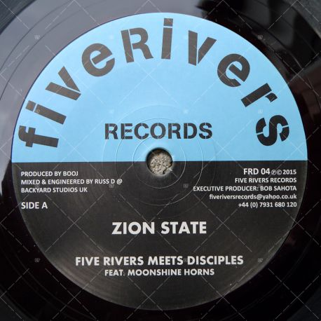 Five Rivers meets Disciples feat. Moonshine Horns - Zion State