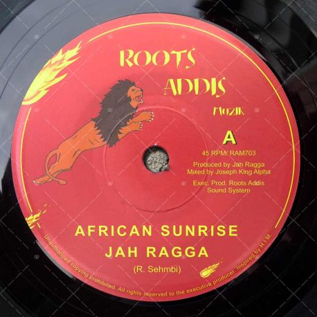 Jah Ragga - African Sunrise