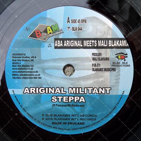 Aba Ariginal meets Mali Blakamix - Ariginal Militant Steppa