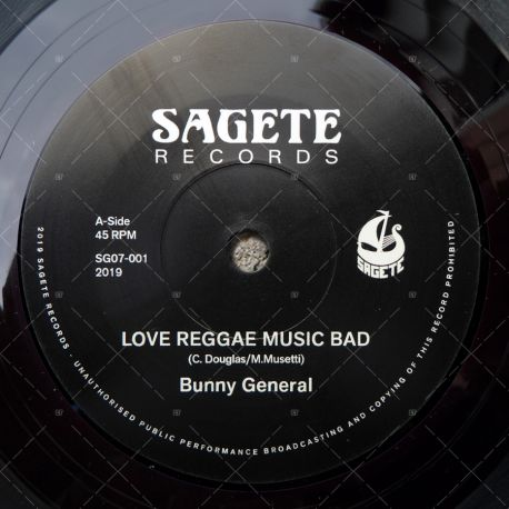 Bunny General - Love Reggae Music Bad