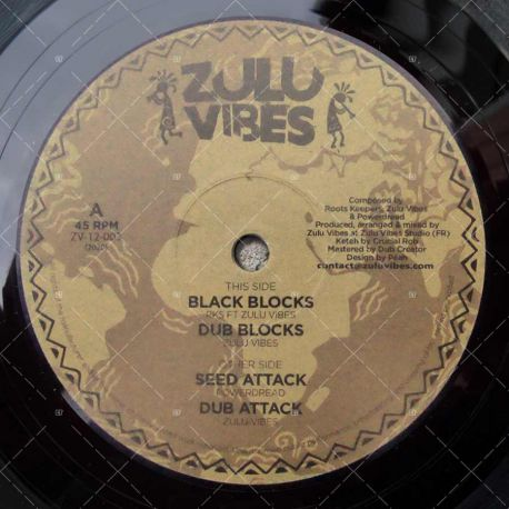 RKS feat. Zulu Vibes - Black Blocks