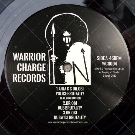 Anja G & Dr Obi - Police Brutality / Vibronics - City On Fire