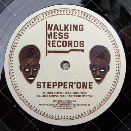 Stepper'One feat. Guru Pope - Lost Temple