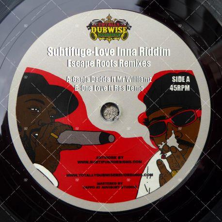 Mr Williamz - Ganja Dadda / Ras Demo - One Love