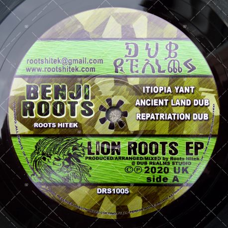 Benji Roots - Itiopia Yant (Lion Roots EP)