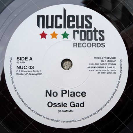 Ossie Gad - No Place