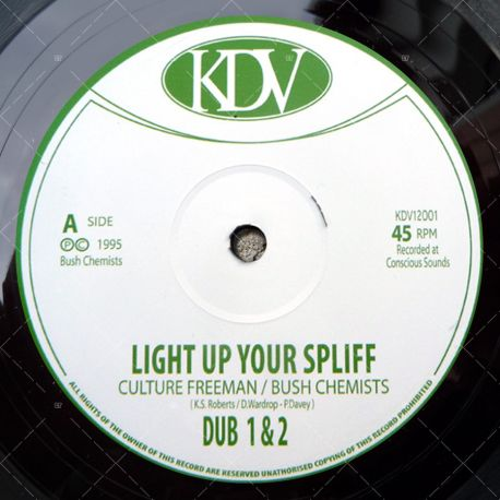 ulture Freeman - Light Up Your Spliff
